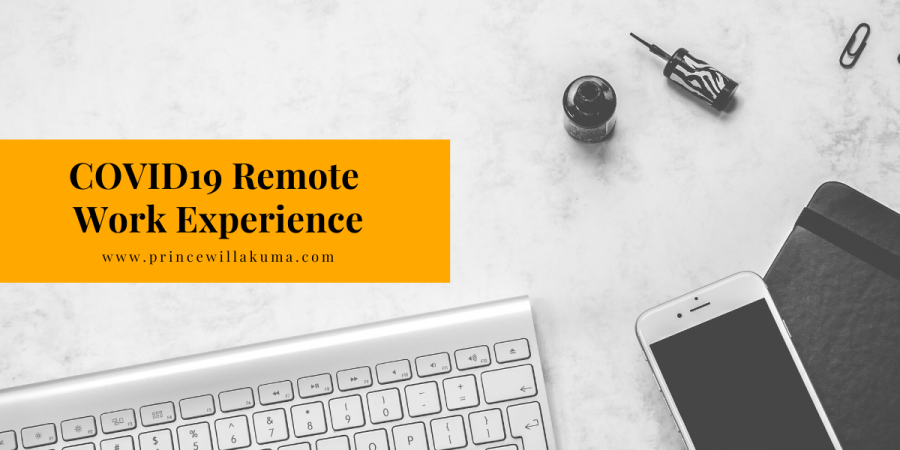 remote work experience